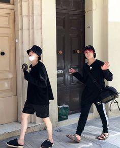Bts Jungkook and Suga Kim Namjoon, Kim Taehyung, Jimin Jungkook, Bts Bangtan Boy, Seokjin, Yoongi Bts, K Pop, Bts Memes, Fanart Bts