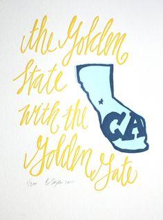 perfect little letterpress print