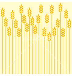 Wheat vector 238925 - by Lirch on VectorStock®