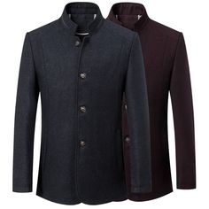 2016 New Men's Wool wadded Jackets Autumn And Winter Fashion Slim Stand Collar Woolen Coat Men Padded jacket Plus Size XXXL Tag a friend who would love this! FREE Shipping Worldwide Buy one here---> https://ihappyshop.com/2016-new-mens-wool-wadded-jackets-autumn-and-winter-fashion-slim-stand-collar-woolen-coat-men-padded-jacket-plus-size-xxxl/