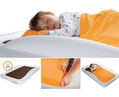 The Shrunks Toddler Travel Bed. Perfect for camping!!! Or outdoor sleepover adventures.