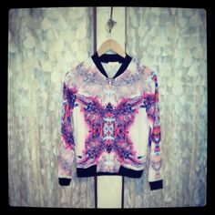 poccoparadiso #hottest #season #trend KALEIDOSCOPE DIGI PRINT jacket!!