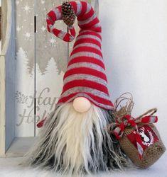 Decoración sueca Tomte escandinavo Gnome por DaVinciDollDesigns