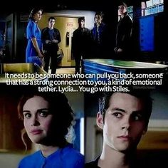 Stiles and Lydia - Teen Wolf Teen Wolf Memes, Teen Wolf Quotes, Teen Wolf Funny, Tv Quotes, Life Quotes, Teen Wolf Stydia, Teen Wolf Dylan, Teen Wolf Cast, Dylan O