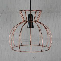 Industrial chic metal lampshade frame to make a statement watt industrial wire cage lamp homemakingheaven 7 greentooth Gallery