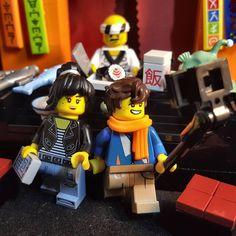Yummy Bara-Chirashi Don and Sushi . #lego #legoninjago #legoninjagomovie #ninjago