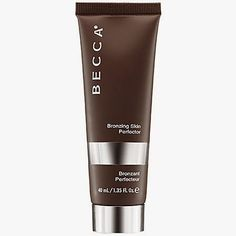 """Becca Bronzing Skin Perfector  has a smooth, gel texture and is very concentrated, so all I needed was about a dime's worth.  The shade gave me just a hint of color, with no glitter or shimmer. It immediately make my skin look brighter and more """"alive"""" and a nice, natural glow.  I liked that it didn't make my more oily areas like my t-zone look greasy or oily."""