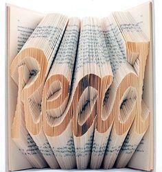 Read, book art by Isaac Salazar