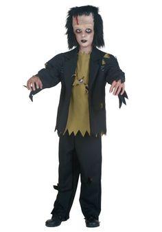 frankenstein costumes for boys | Costume Ideas Classic Costumes Frankenstein Costumes Reanimated Boys ...