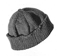 Link to download the FREE Knit for Victory pattern Beanie Pattern #S-106