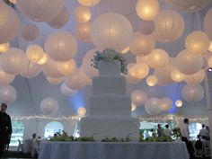 I love the soft lighting from these lanterns.  Sometimes I wish Don and I had done the big wedding thing.  No regrets!