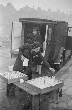 File:Blitz Canteen- Women of the Women's Voluntary Service Run a Mobile Canteen in London, England, 1941