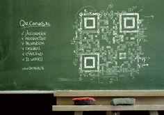 Crazy cool QR code