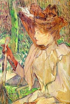 Henri de Toulouse-Lautrec (Francia, - Mujer con guantes (Retrato de Honorine Platzer), Óleo sobre cartón, 54 x 40 cm Musée d'Orsay - París, Francia) Henri De Toulouse Lautrec, Paul Gauguin, Manet, Tolouse Lautrec, Arte Fashion, Georges Seurat, Chef D Oeuvre, Impressionist Art, Art Moderne