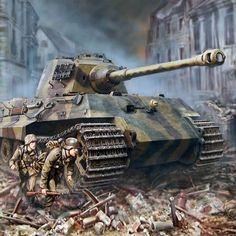 German Soldiers Ww2, German Army, Tank Wallpaper, Military Drawings, Germany Ww2, Tiger Ii, War Thunder, Military Armor, Tiger Tank