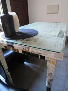 New old table