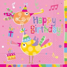 Design Birthday Tweets Luncheon Napkins, 20 Count (Pack of 2) by Design Design. $10.04. Full color. 3 ply tissue. Lucheon napkins. Design Design currently offers over 15,000 products. All the products are designed by their art department of 25 people and are manufactured to their specifications by vendors all over the world. Design Design product categories include social expression products, paper tableware, gift packaging products, soft goods, ceramic, metal, and other...