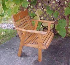 Amish hechos a 2' silla de cedro por CSCedarProductsInc en Etsy