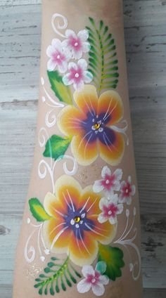 Moana tattoo By Nikki 't Gilde #facepaintingbusiness
