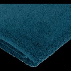Serviette invité en coton 30x50cm bleu figuerolles - Alinéa Peignoir, Home Decor, Products, Cotton Napkins, Towel, Dog Bathing, Blue, Toilets