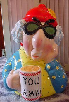 "Maxine ""You Again?"" Hallmark Cookie Jar"