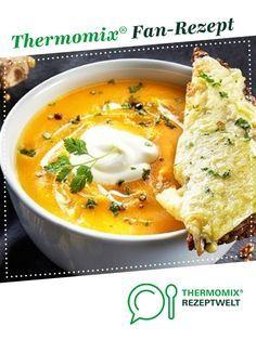 Süßkartoffel-Möhren-Suppe von Julie-1. Ein Thermomix ® Rezept aus der Kategorie Suppen auf www.rezeptwelt.de, der Thermomix ® Community.