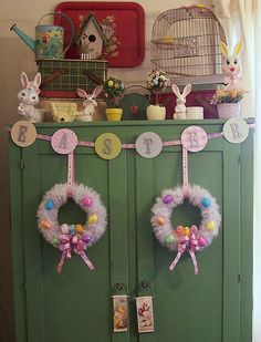 Easter Decorations-2011 by MissConduct*, via Flickr