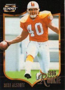 TAMPA BAY BUCCANEERS - Mike Alstott  158 ROOKIE Pinnacle Summit 1996 American  Football Trading Card  3e54b4ea513