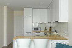 ЖК Friendly House (55 sq.m.) + живые фото • Дизайн-проект • DAVIDOVICH.design Home Design Decor, House Design, Home Decor, Living Room Decor, Kitchen Cabinets, Bedroom, Table, Furniture, 3d