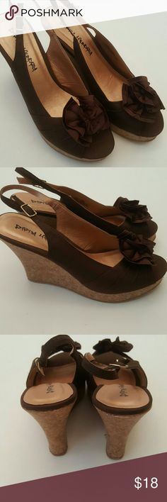 "NIB Ilena Mink Wedges New In Box. Heel 4.5"". Dirty Laundry Shoes Wedges"