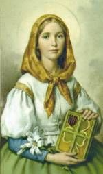 St. Dymphna - Wonderful Catholic Saint to turn to ask for her intercessory prayers in times of mental distress.  For the St. Dymphna Novena, visit here:  http://www.praymorenovenas.com/st-dymphna-novena/