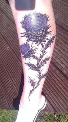 thistle tattoo