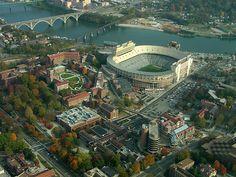 University Of Tennessee Knoxville | Stadium Travel Guide - Knoxville - Neyland Stadium
