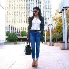 La Caprichossa • Blog de Moda, Belleza y Tendencias: LOOK Parka & Peeptoes #kissmylook