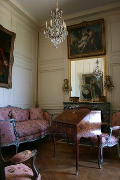 Cabinet de l'appartement de Madame de Pompadour Petit Appartement du Roi (attique) © Nicolas Jacquet