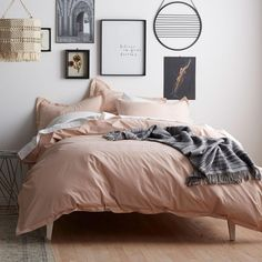 Reinvent your bedroom with the addition of this Cstudio Home Tara Eyelet Blush Full Duvet Cover. Full Duvet Cover, Duvet Covers, Modern Bedroom, Bedroom Decor, Master Bedroom, Bedroom Ideas, Contemporary Bedroom, White Bedroom, Bedroom Brown