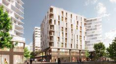 40 logements Chapelle International - atelierpng architecture - AJAP 2014 - Europe 40 Under 40 2014