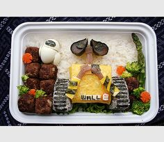 10 Ultra Creative and Geeky Bento Box Lunches - TechEBlog