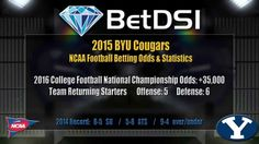 BYU Cougars Odds | NCAA Football Picks and 2015 Team Preview