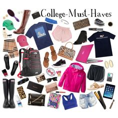 Trending necessities for the typical college girl.