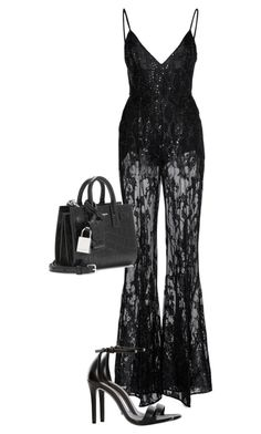 """Untitled #354"" by daniellaelisa ❤ liked on Polyvore featuring Zuhair Murad, Yves Saint Laurent and Schutz"
