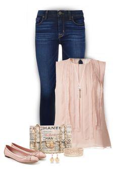 """Chanel Handbag"" by stileclassico ❤ liked on Polyvore featuring Hudson, Jason Wu, Chanel, Salvatore Ferragamo and Michael Kors"