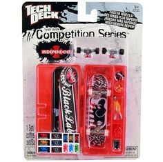 Tech Deck Competition Series [Black Label - Red Case]
