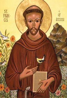 "st francis | him ""easy"" not because his life is simple to emulate (Which saint ..."