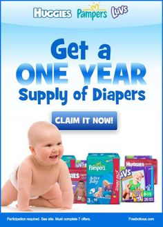 Free diapers for one year