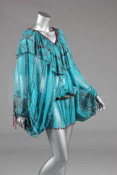 Early 1980's Zandra Rhodes Chiffon Dress  from the upcoming Kerry Taylor auction