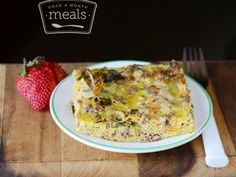 Paleo Slow Cooker Breakfast Casserole | Once A Month Meals | Freezer Meals | Freezer Cooking