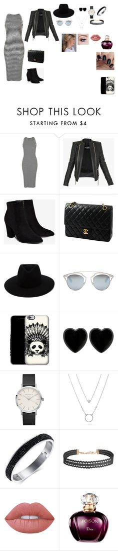 """Sem título #5"" by laurenmello-473 on Polyvore featuring moda, Topshop, Balmain, Billini, Chanel, rag & bone, Christian Dior, Dollydagger, Humble Chic e Lime Crime"