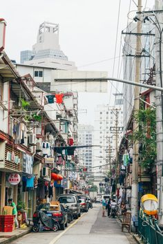 An old Shanghai street