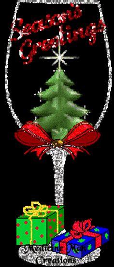 CHRISTMAS, SEASON'S GREETINGS GIF